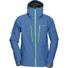 Norrona Lofoten Gore Tex Pro Jacket - Denimite - Small - New for 16/17 Season