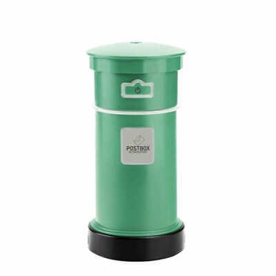 Postbox Green Portable Ultrasonic Air Humidifier Aroma Diffuser Air