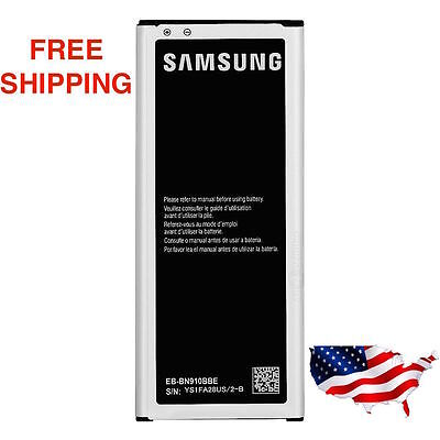 NEW Samsung Galaxy Note 4 IV Battery 3220mAh EB-BN910BBE BBZ BBU for SM-N910