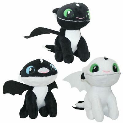Auswahl Baby Nachtlichter | Softwool 15 cm Plüsch-Figur | DreamWorks Dragons