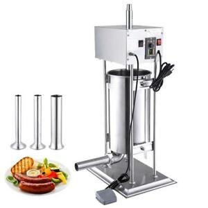 15L Electric Sausage Stuffer Vertical Stainless Steel Meat Filler Restaurant - Brand new - FREE SHIPPING