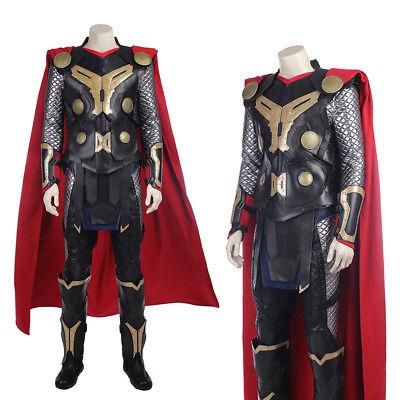 Thor Halloween Costume (Thor 2: The Dark World Thor Odinson  Cosplay Costume Halloween)