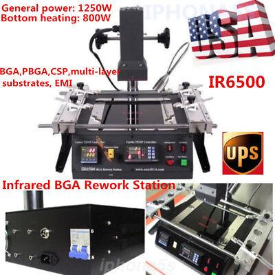 Ir6500 Infrared Bga Rework Station Soldering Desoldering Tech For Xbox360 Ps3