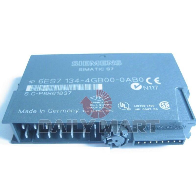 SIEMENS NEW 6ES7 134-4GB00-0AB0 PLC ANALOG INPUT MODULE TRANSMITTER 2POINT