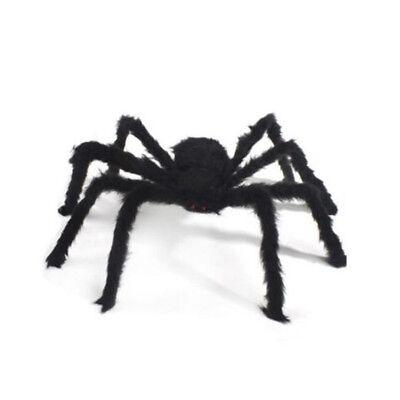 Riesige schwarze Spinne Spukhaus Prop Indoor Outdoor Wohnkultur / Party Dekor
