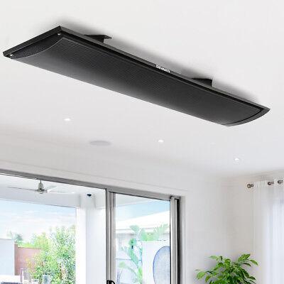 Electric Mount Panel Heater Indoor Outdoor Wall Ceiling Heating Heat Bar 1800W