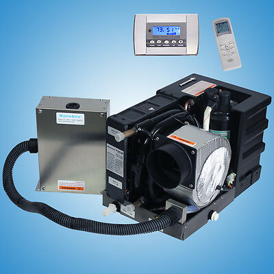 Marine air conditioner reverse cycle heating systems 6000 Btu 230V AC + Control Btu Reverse Cycle