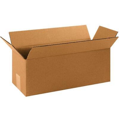 Aviditi Corrugated Boxes Long 16 X 5 X 5 Kraft Pack Of 25 1655