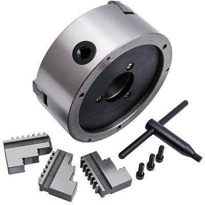 Self-centering 3600 Rmin 6 3 Jaw Lathe Chuck Milling Internal External