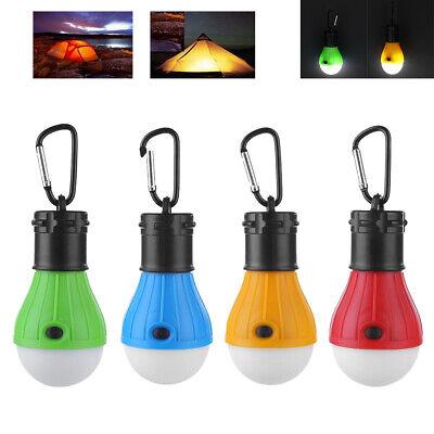 3LED Tent Hanging Lamp 3Modes Outdoor SOS Emergency Carabiner Lantern Bulb -