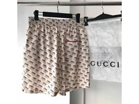 Gucci Cream shorts