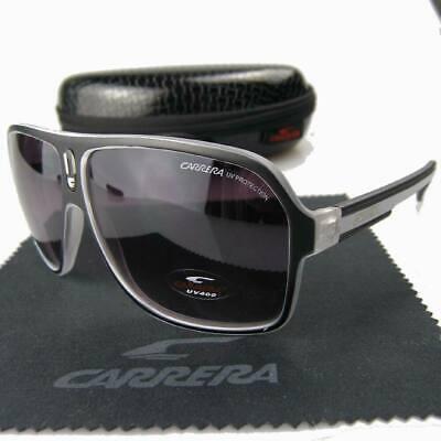 White+Black Frame Purple Lens Polarized Carrera Sunglasses (Carrera Sunglasses Purple)