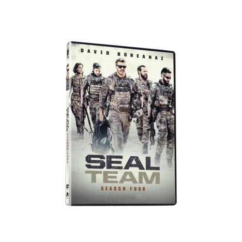 SEAL Team Season 4 (4-DVD) Brand new seal usps free shipping