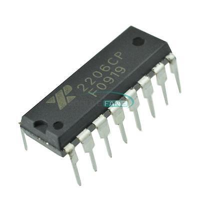 Exar Xr2206 Xr2206cp Monolithic Function Generator Ic 16 Pin Dip