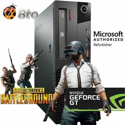 Gaming Desktop PC 1TB AMD RX 550 DDR5 HDMI 3.2Ghz 16GB RAM Wi-Fi Win 10 Computer