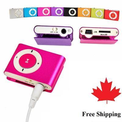 Brand New Metal USB 2.0 Mini Clip On Portable MP3 Music player