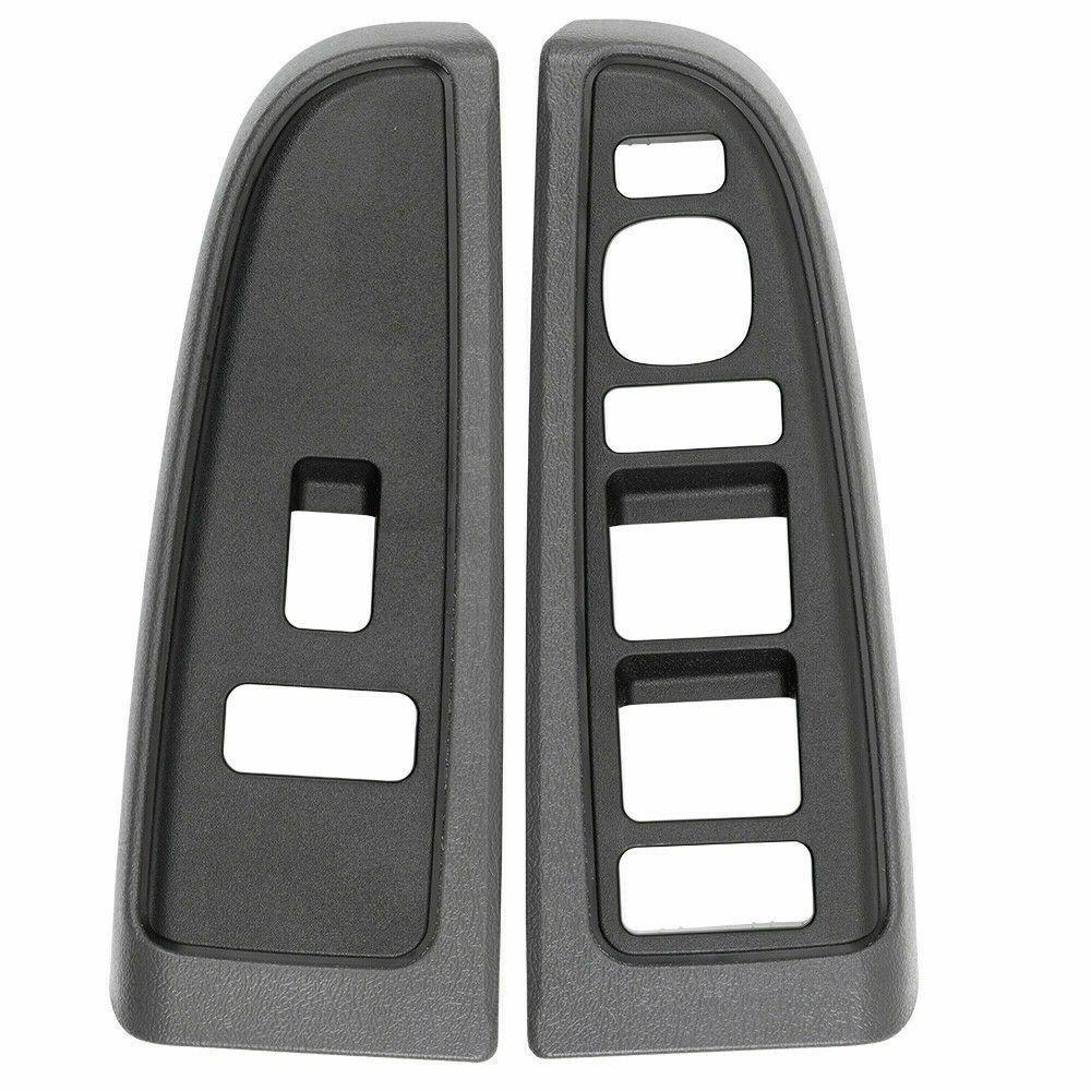 New Gray Driver Side Window Switch Trim For 03-07 Silverado Sierra 89045124