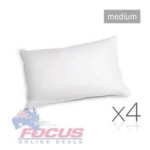 Set of 4 Pillows Polyester Fibre Filling - 4 x Medium Melbourne CBD Melbourne City Preview