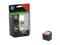 Original HP 301 Colour cartridge NEW