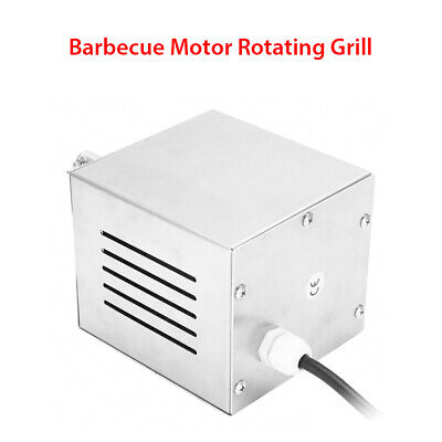 25W 120KG BBQ Motor Pig Chicken Goat Charcoal BBQ Grill StainlessSteel Automatic