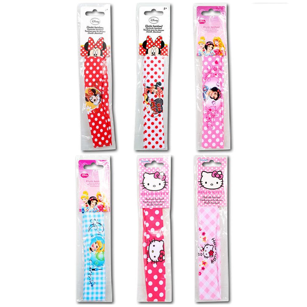 Disney Haarband Stirnband Minnie Maus, Princess, Hello Kitty NEU OVP