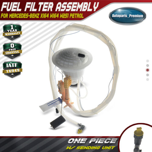 For Mercedes X164 W164 W251 Fuel Filter Assembly /& Fuel Level Sending Unit OES