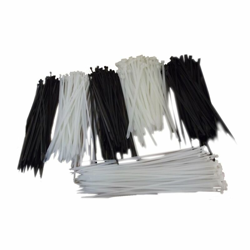 """100pk 12"""" Universal Utility Cable Zip Ties (Many Sizes 