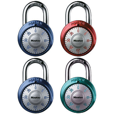 Master Lock 1561dast Combination Dial Padlock With Aluminum Cover
