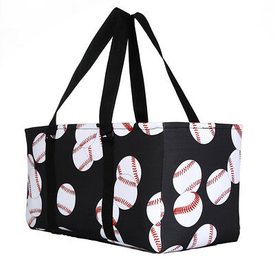 All Purpose Open Top Tote Extra Large Utility Sports Tote Bag 22