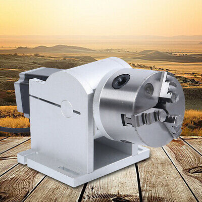 80mm Rotary Axis Cnc Chuck For Laser Router Engraving Cutting Machine Tool