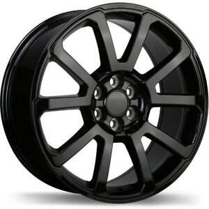 "20"" Wheel Set 2015+ GMC Canyon Chevrolet Colorado 20x8.5 Wheels Mag Roue 20 Roues Black Rim"