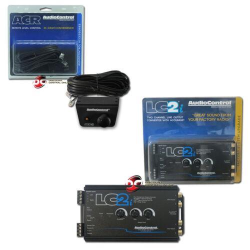 AudioControl LC2i 2-channel Line- Output Converter Plus ACR-1 Remote Control