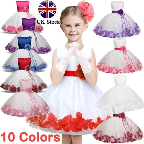 Kids Girls Bow-knots Princess Party Birthday Wedding Dress Shoes 2-8 years old