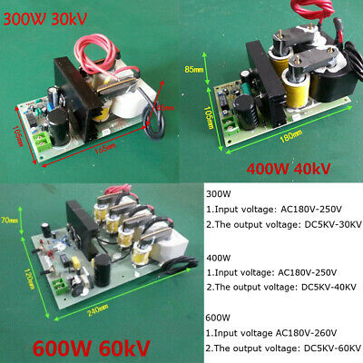 Adjustable Electrostatic Precipitator Power Supply High Voltage 30kv 40kv 60kv