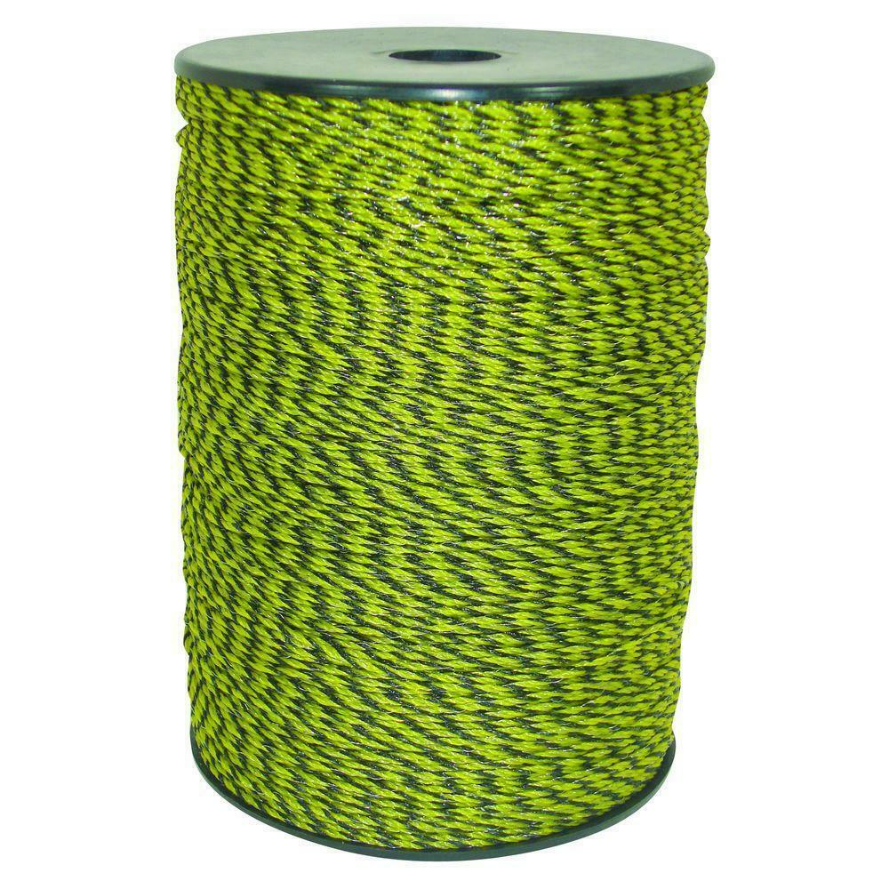 Electric Fencing Wire Poly Livestock Fence Roll Conductor 1312 ft