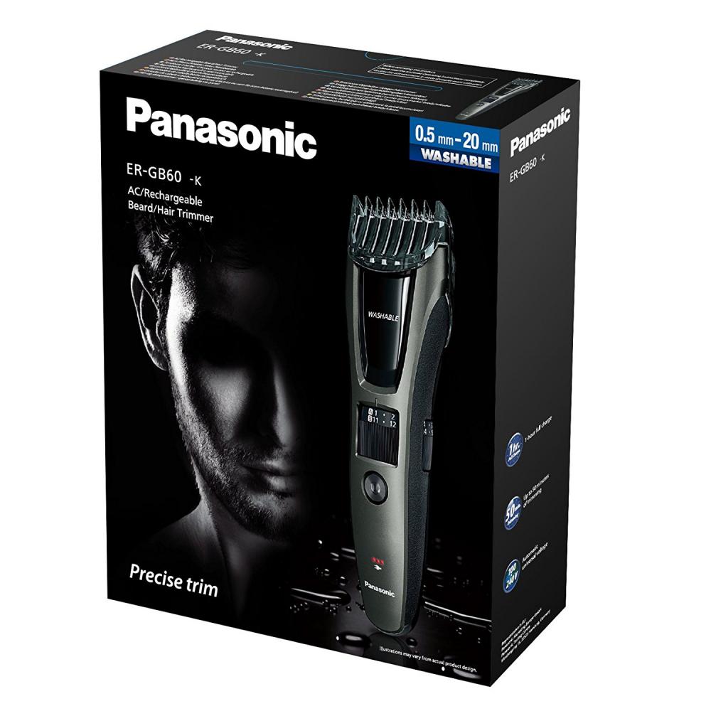 Panasonic ER-GB60-K511 Herrenrasierer Bartschneider Haarschneider Trimmer