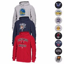 NBA Adidas Full Primary Team Logo Fleece Pullover Hoodie Collection Men