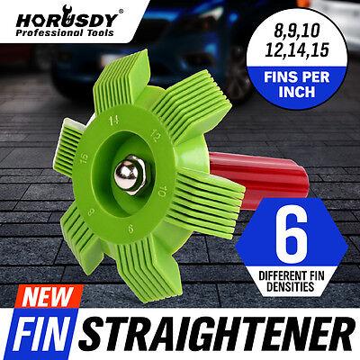 6 in1 Fin Comb Straightener Cleaner Automotive A/C Radiator Evaporator Condenser