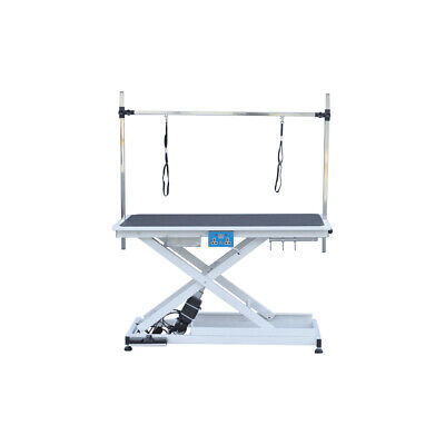 Electric Pet Dog Grooming Table Lift Table 200Lbs Height Adjustable Heavy Duty