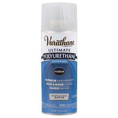 Varathane Clear Satin Water-Based Interior Polyurethane Paint 200281, 6-PACK