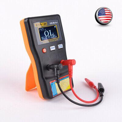 Mesr-100 Esr Capacitance Ohm Meter Cap Resistance Capacitor Circuit Tester Us