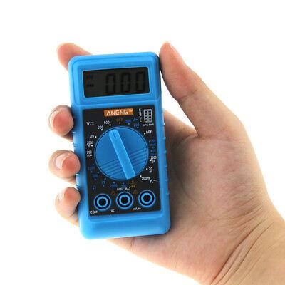 Aneng Mini Digital Dmm Lcd Multimeter Voltmeter Ohmmeter Amperemeter 2018