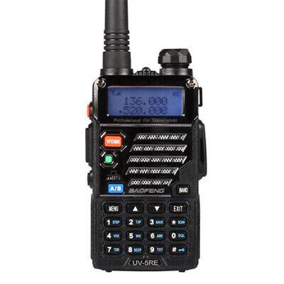 Portable Radio Scanner Handheld Police Fire Transceiver VHF FM EMS HAM Two Way