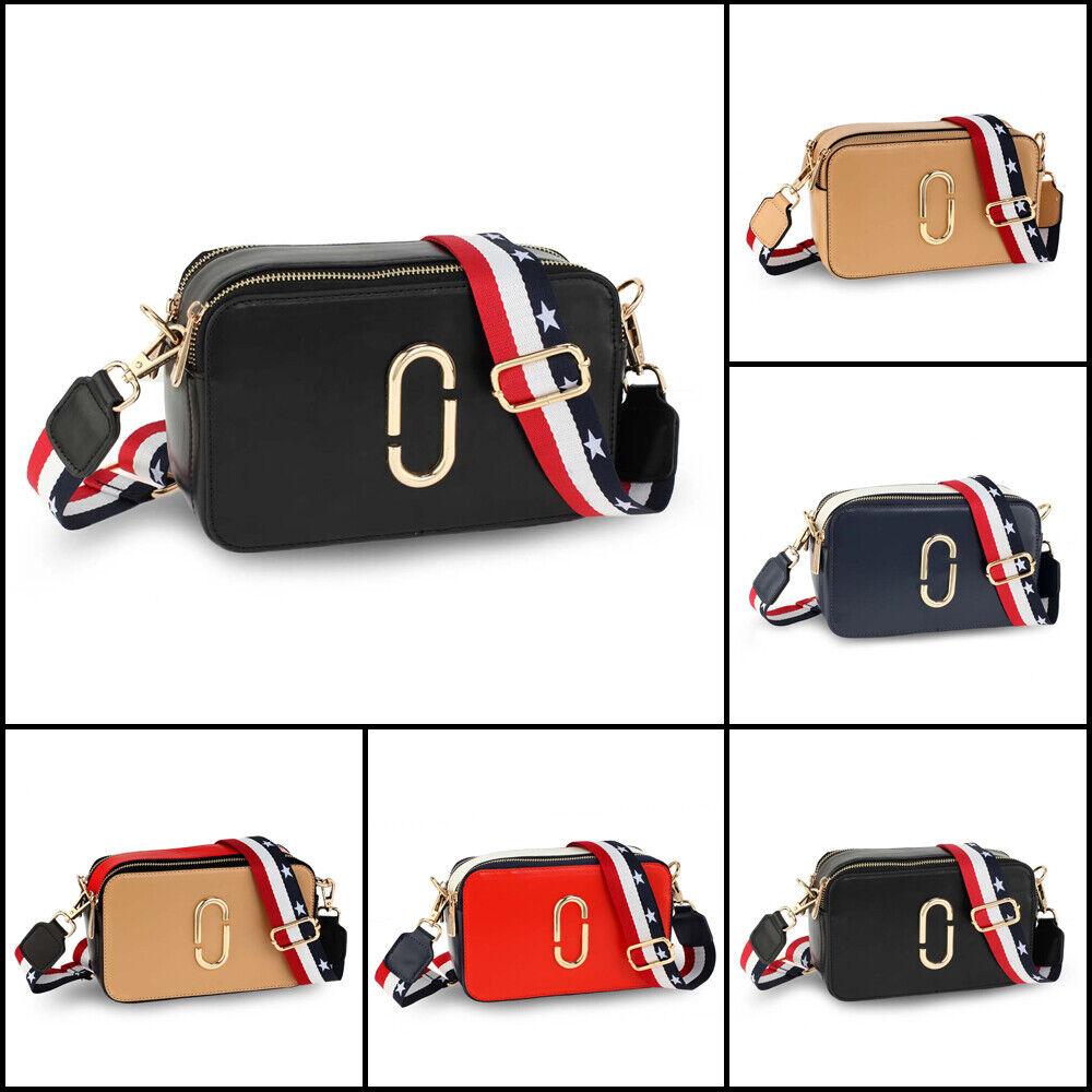 Leather Crossbody Bag For Women Handbags Medium Designer Fas