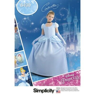SEWING PATTERN! MAKE CINDERELLA COSTUME~DRESS~DISNEY PRINCESS~HALLOWEEN~DRESS UP