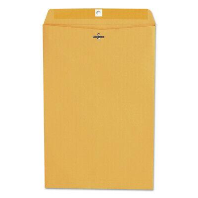 Universal Unv35268 Kraft Clasp Envelope Center Seam 28 Lbs. 10 X 15 New