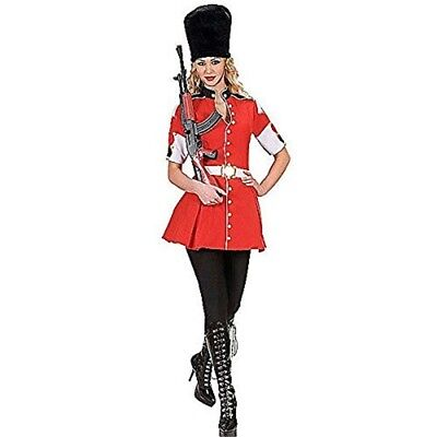 Royal Guard Costume Large For 19th 20th Century Fancy Dress - Ladies Adults