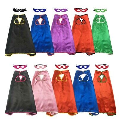 Plain Superhero Capes with Masks for Baby Boys Girls Cheap Halloween Costume - Baby Punk Costume