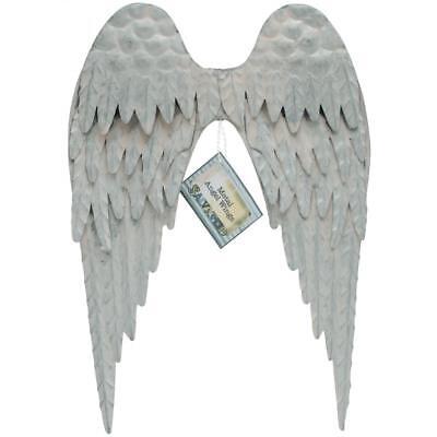Angel Wings Wall (Angel Wings Wall Decor Vintage Style Metal Angel Wings 10.5