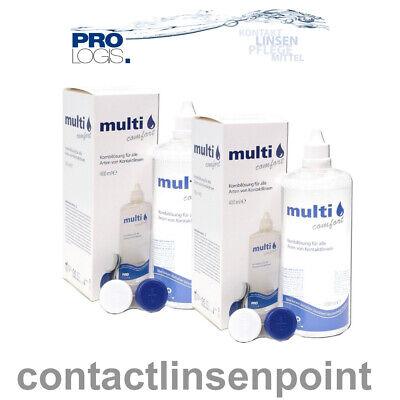 Prologis - MULTI COMFORT Kombilösung - 2x400ml für weiche Kontaktlinsen